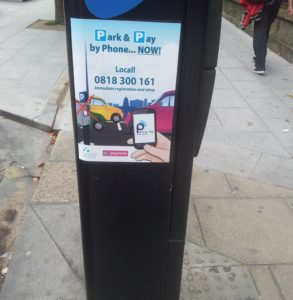 If you're reading this, you're probably on a PC with internet filtering, or a poor connections, so you're missing a picture of Dublin City Council claiming 0818 number is Locall